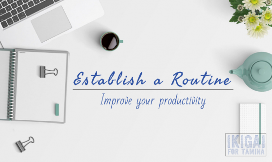 Improve your productivity with morning and evening routine featured image