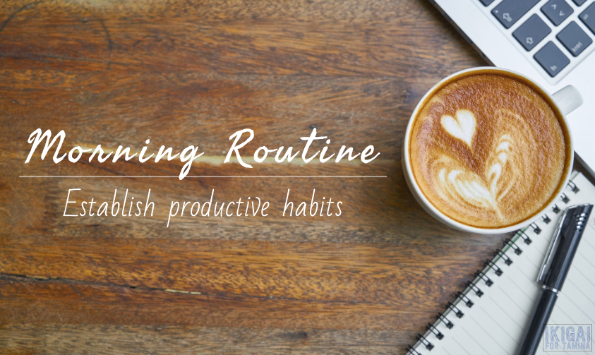 Morning routine section header image