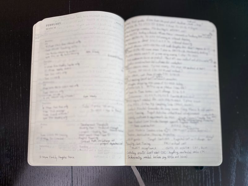 Old planner image